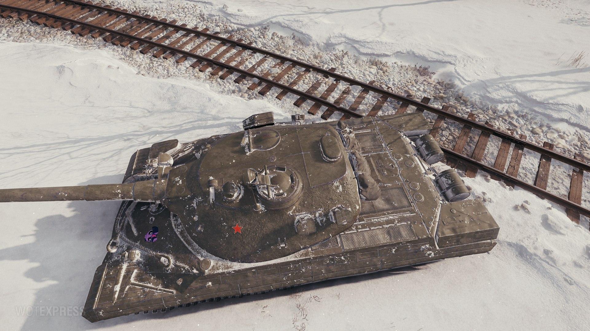 高清277工程图赏:T-10豪华升级版?