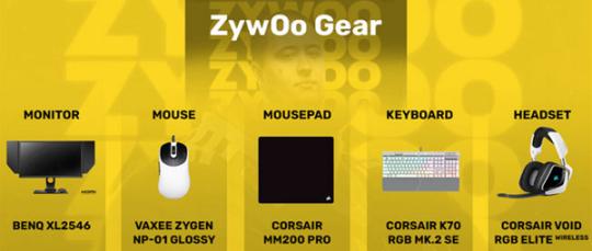 爱游戏:CSGO 新鼠标+16:9 ZywOo最新游戏装备、设置