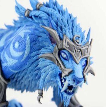 国外创意工坊 豹母之魂神器的猫德模型