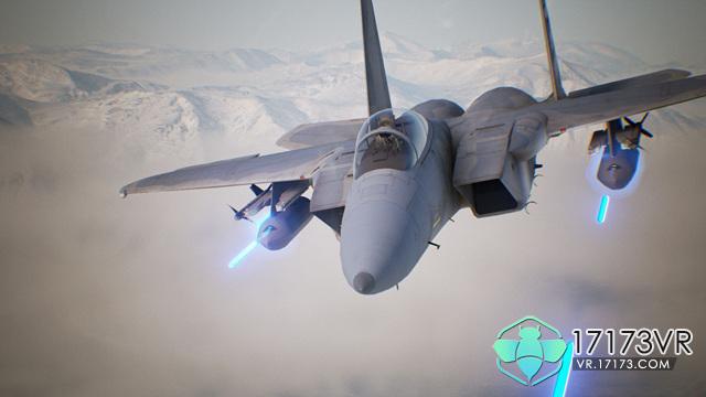 以第一人称视角在战斗机驾驶舱内直接控制飞机,只需转动头部就能观察