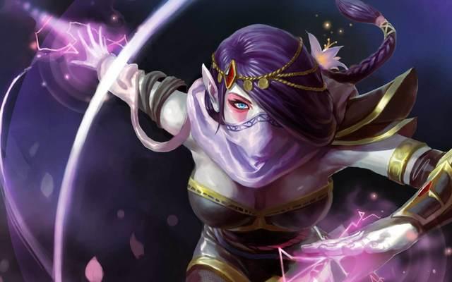 Dota2:努力学习终于打开异世界的大门,是她是她就是TA