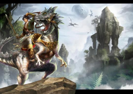 重回侏罗纪 《黄易群侠传ol》恐龙岛介绍