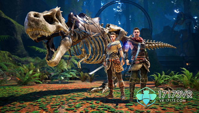 图3:限制特典:霸王龙骨架坐骑+猎人套装.jpg