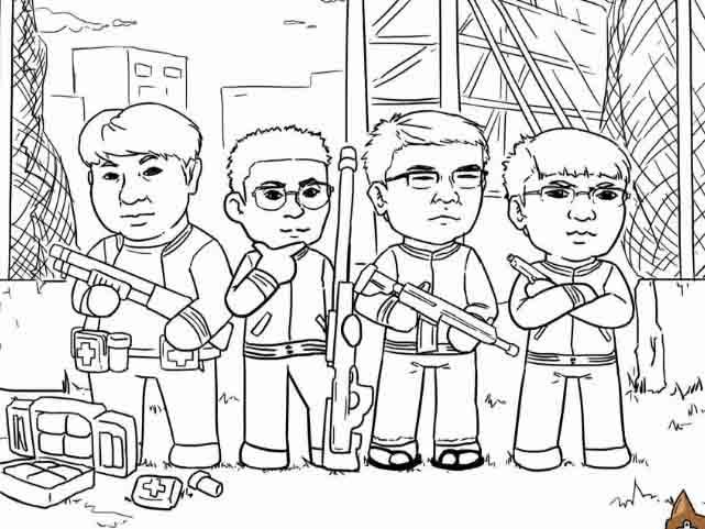 G-STAR赛后总结篇:漫画详解各国战队