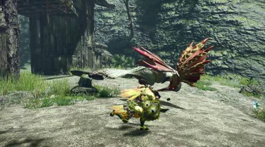 《【天游在线登录注册】《怪物猎人:崛起》发布新演示:借助翔虫取消受身状态灵活狩猎》