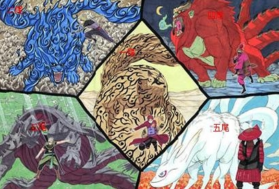 炉石传说卡牌DIY:火影忍者 尾兽来袭!