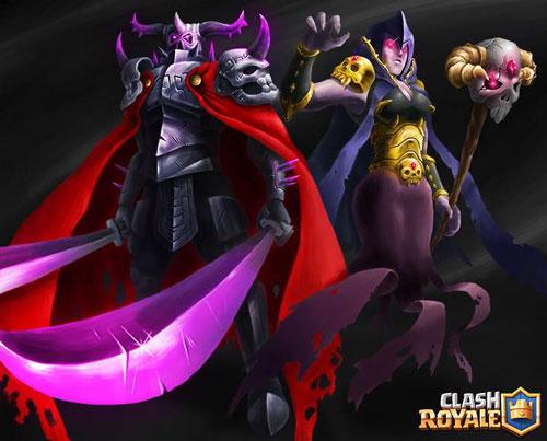 皇室战争大皮卡女巫