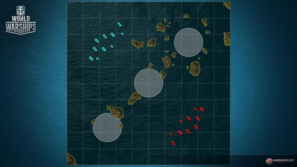 战舰世界亚服072三张地图调整
