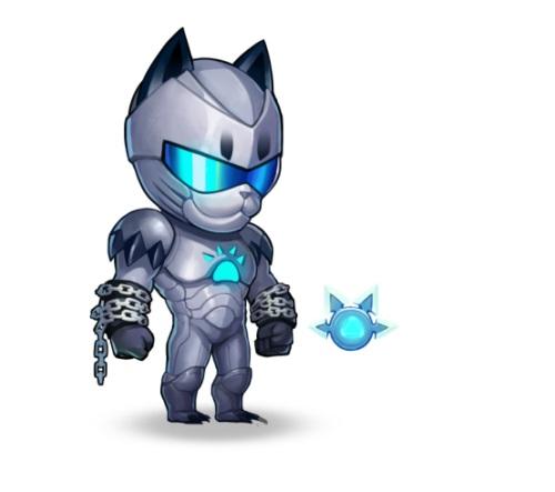忍者冲击强力飞踢!《小冰冰传奇》魂匣猫忍的神秘忍术!
