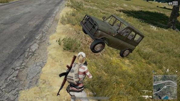 老司机教你绝地求生的驾车技巧,骚才是最重要的