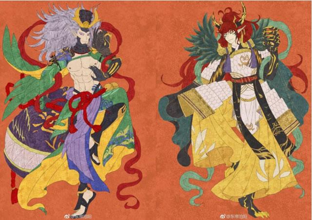 平安新年相伴同行 阴阳师式神新春众生相