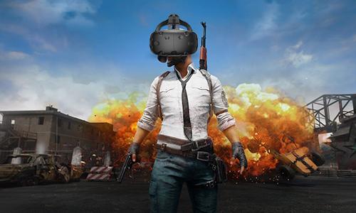 VR版吃鸡早已粗线!
