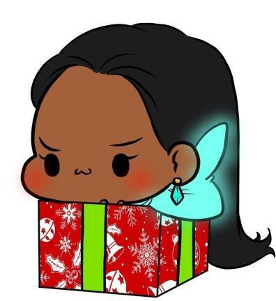 国外玩家sweetorchidsoul绘制了敲可爱的《守望先锋》圣诞礼物版英雄