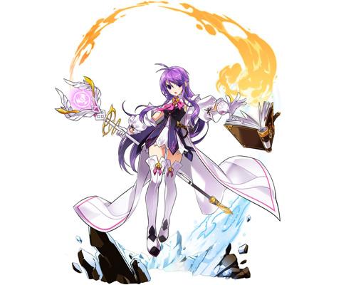 《艾尔之光》魔法少女变身 爱莎三转职业以太贤者