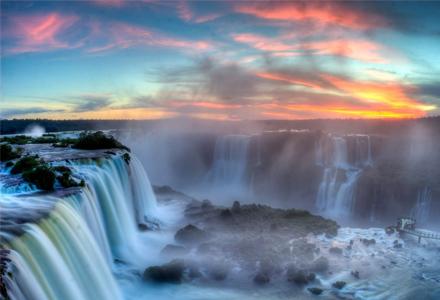 13个闭上眼都能出国的国界线 巴西与阿根廷交界真是太壮观了!