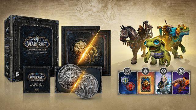 魔兽8.0资料片于8月14日正式上线 典藏版内容公布