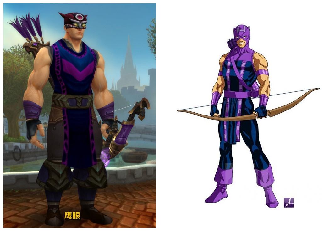 玩家精品幻化分享:《复仇者联盟2》角色