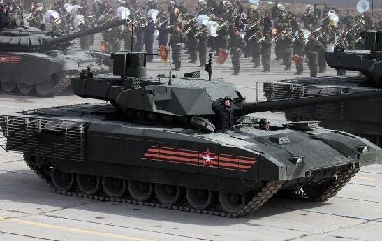 斯拉夫的钢铁洪流:俄胜利日阅兵式陆军铁骑全透析