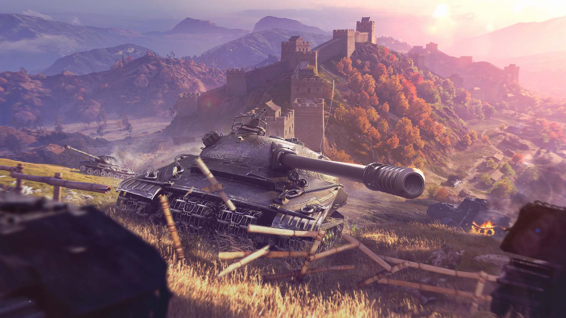 《坦克世界》1.2更新:四条履带怪物战车登场