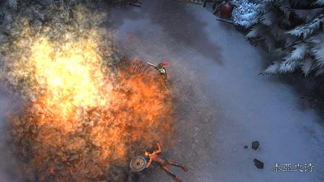 (图5)火枪升级成火炮后可以范围攻击.jpg