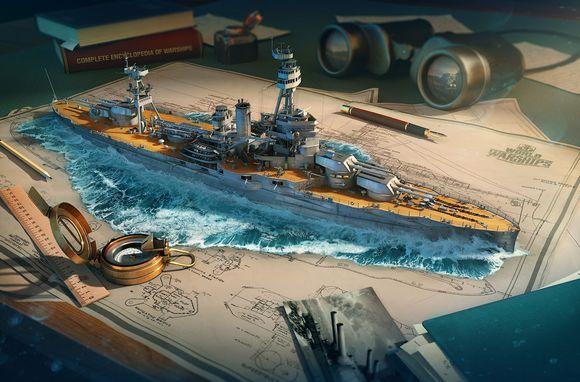 战舰世界名舰和谐动物园