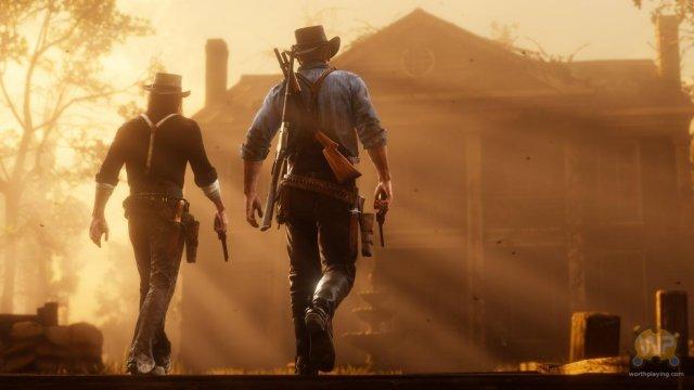 西部牛仔单挑之战 《荒野大镖客2》海量新图曝光
