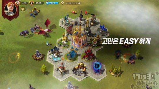 战略手游《奇迹的佩迪翁》正式上线韩国 具备自动领土管理系统