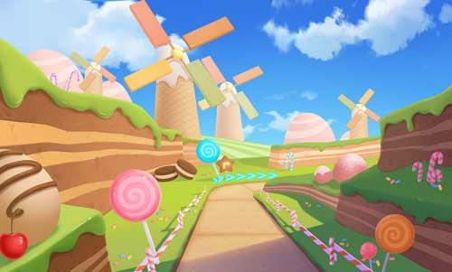qq飞车手游 高能路段 糖果乐园赛道难点解析
