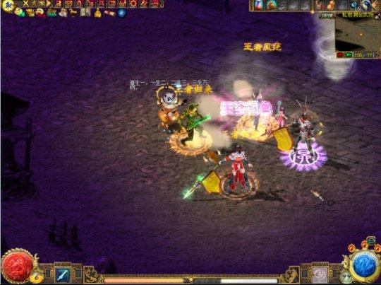 图二:群侠会武使用玩家耳熟能详的地图场景中的随机一个.jpg