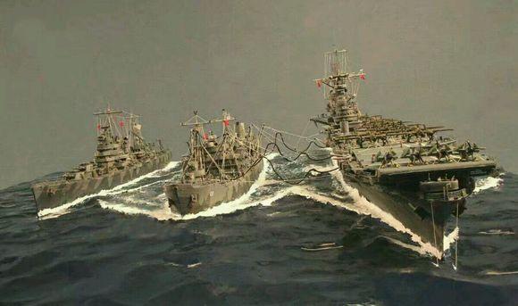 战舰世界大黄蜂号航母精美舰模