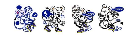 NBA2KOL2鼠年美术元素解读