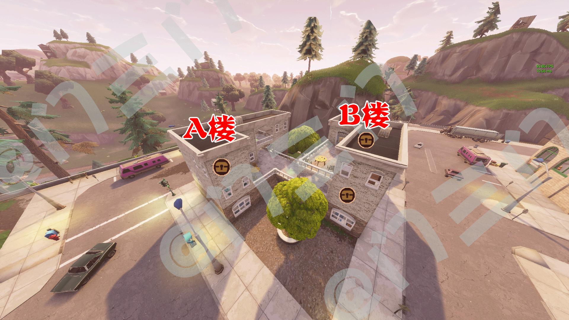 堡垒之夜斜塔小镇怎么打 斜塔物资最快搜集攻略