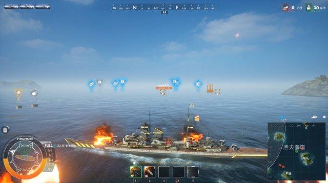 """《再战:孤舰绝境》评测7.5分 当战舰海战遇见""""吃鸡"""""""