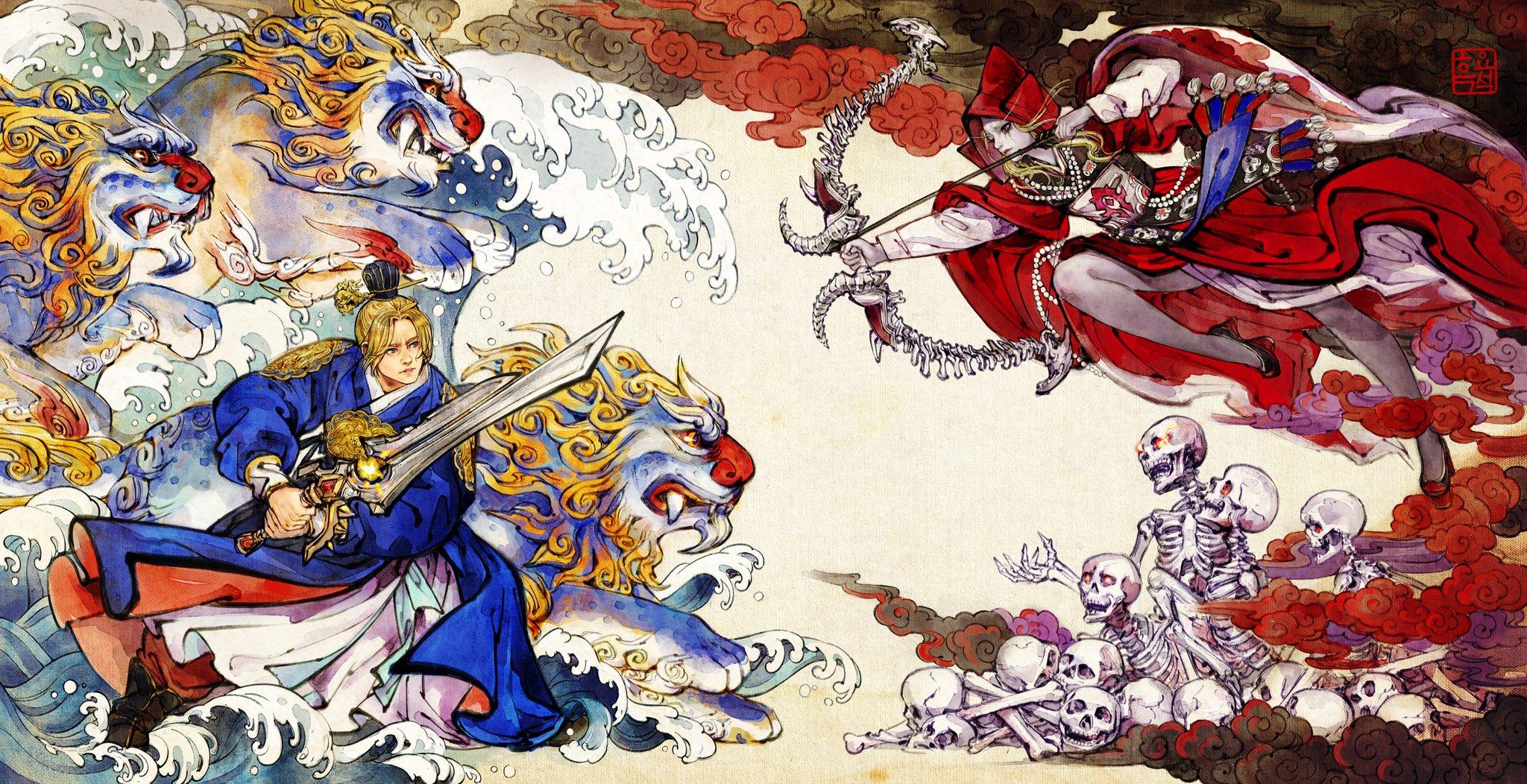 另类艾泽拉斯主题 安度因希女王上演仙魔大战