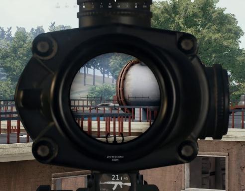 【战术大师】步枪4倍镜测距及瞄准详解