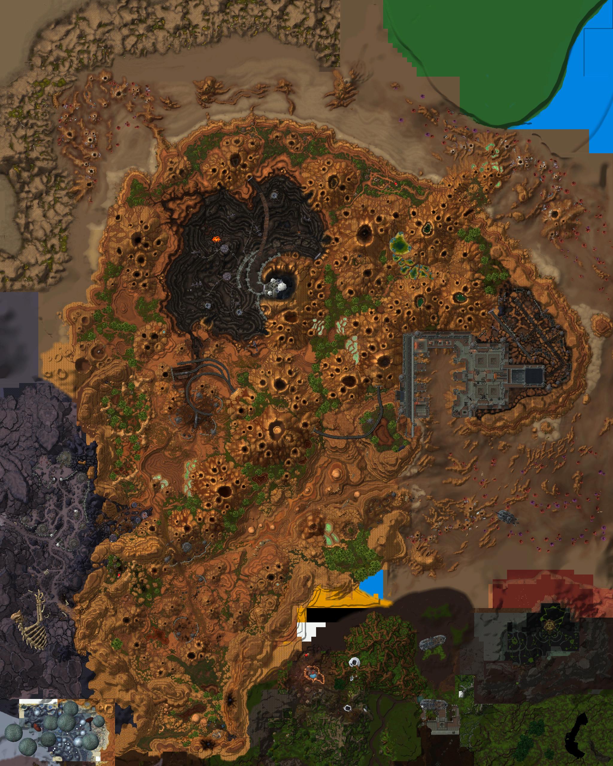 8.0A测新增地图:德拉诺兽人疑加入同盟