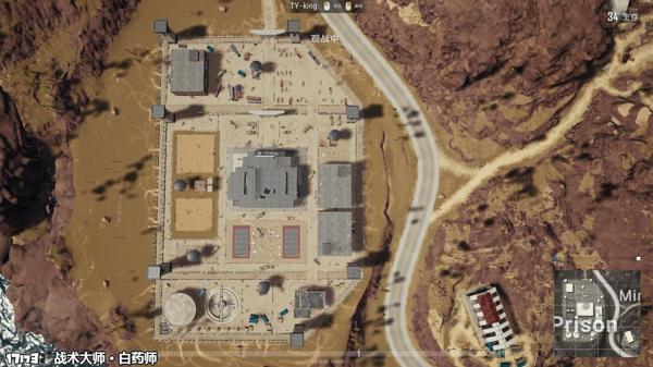 孤岛监狱位于绝地求生海岛地图左下角位置,处于一个和大陆隔海相望