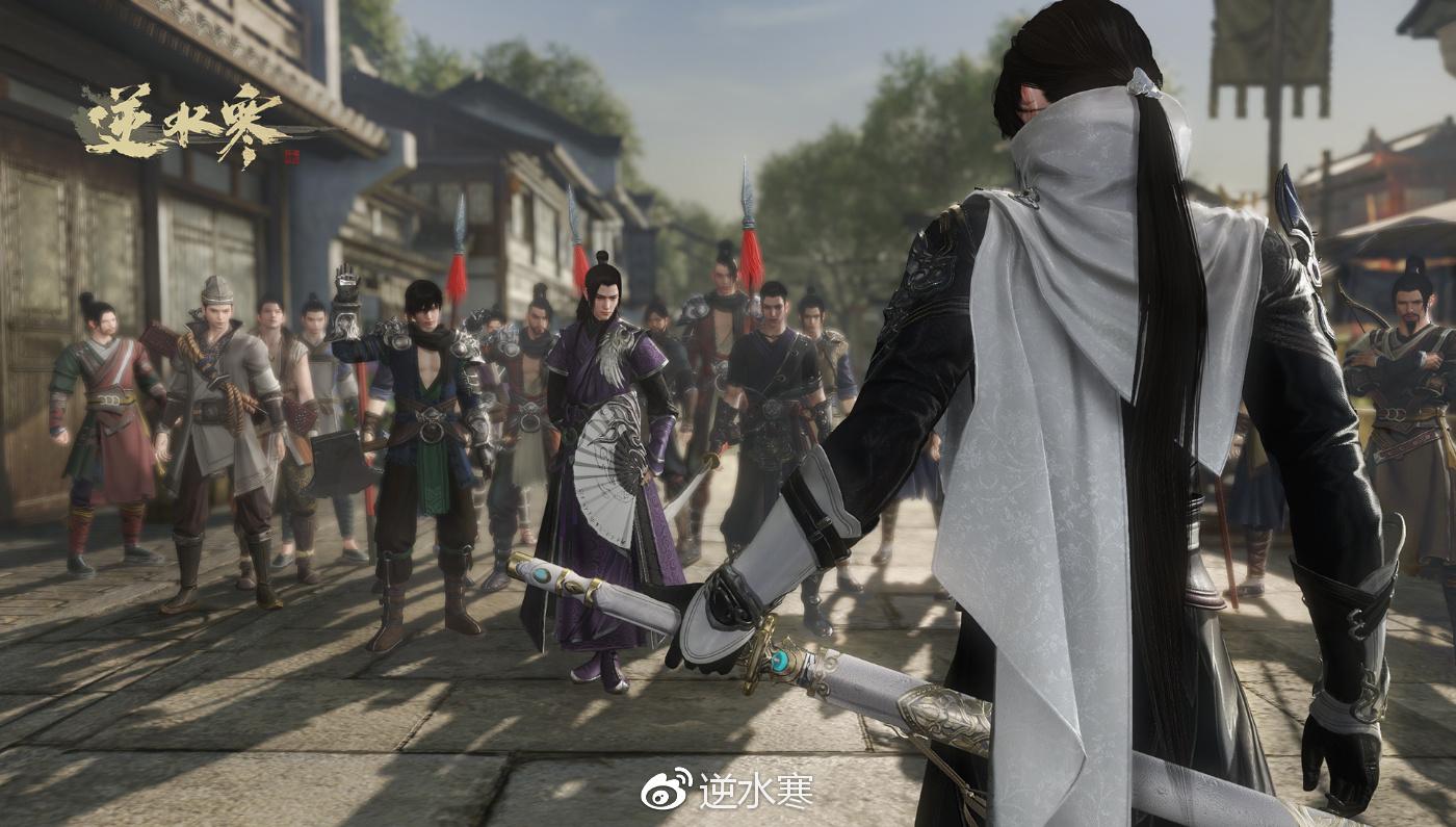 17173第885个专区《逆水寒》正式上线_网络游戏新闻_.图片