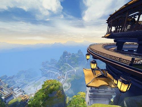 剑网3霸刀地图风景欣赏 中州北望霜风起