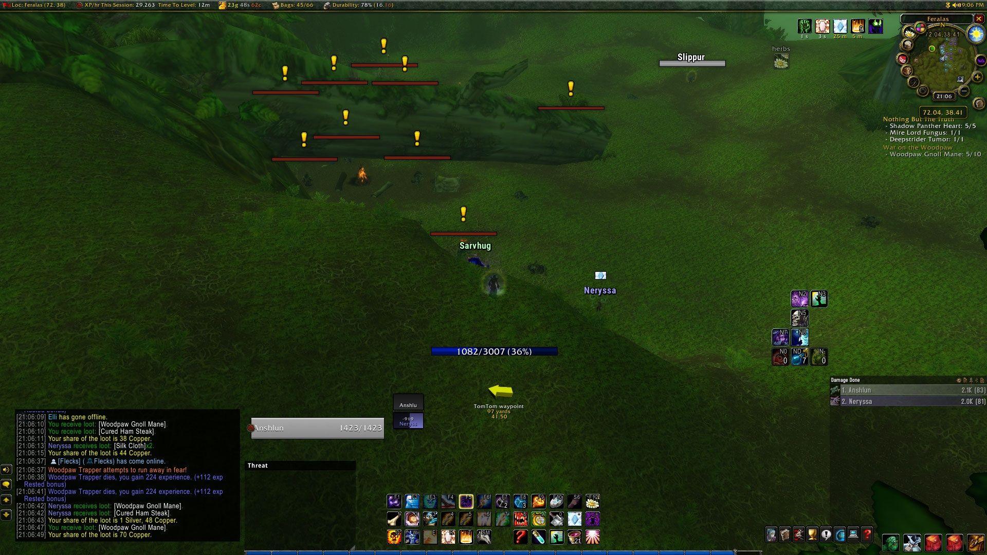 《魔兽世界》怀旧服姓名板可见距离锁定为20码