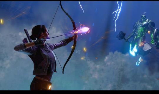 《【天游平台网】《漫威复仇者》全面曝光全新英雄凯特·毕肖普》