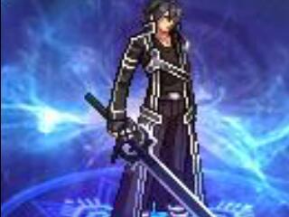 2018年至尊年套武器装扮改SAO黑/白剑