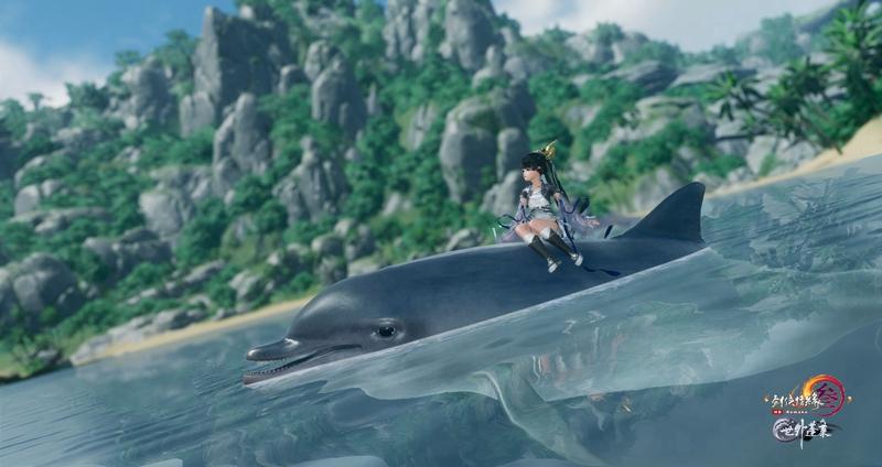 海洋生物种类繁多《剑网3》东海坐骑交通首曝