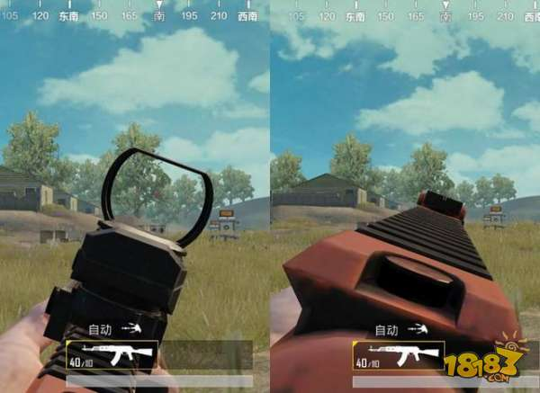 刺激战场akm红点和机瞄实用度解析 哪个更实用?图片