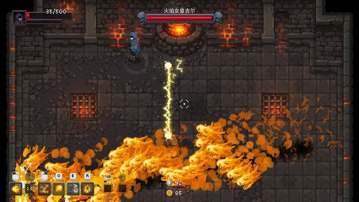 《传说法师》评测:与火影战斗,打击感十足的地牢探险