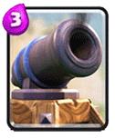 皇室战争加农炮
