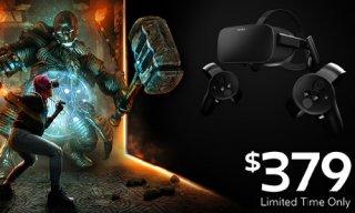 亚马逊直邮! Oculus Rift冬季促销只需380美元