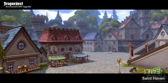 韩服《龙之谷》升级所有村庄的画质 添加了阴影等效果