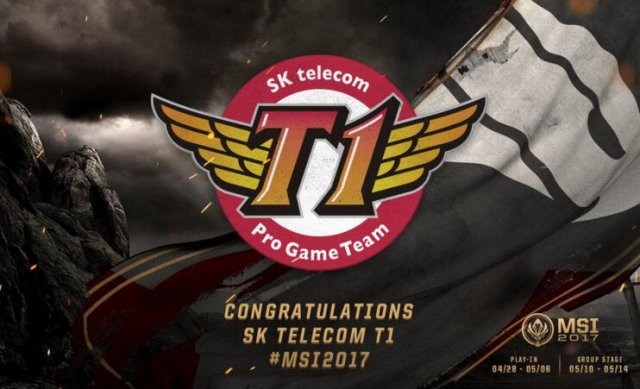 SKT成唯一一支三次参加MSI正赛的战队