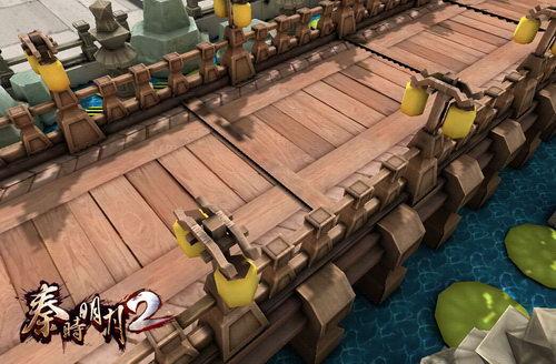 《秦时明月2》3D立体还原动漫中的真实场景